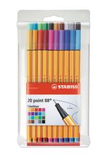 Stabilo Stabilo Point 88 Set of 20