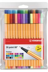 Stabilo Stabilo Point 88 Wallet Set 30