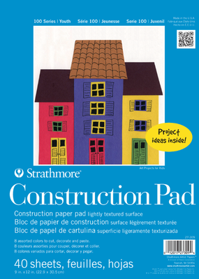 Strathmore Strathmore Kids Construction Pad 9 x 12 Inch