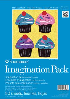 Strathmore Strathmore Kids Imagination Pack 9 x 12 Inch