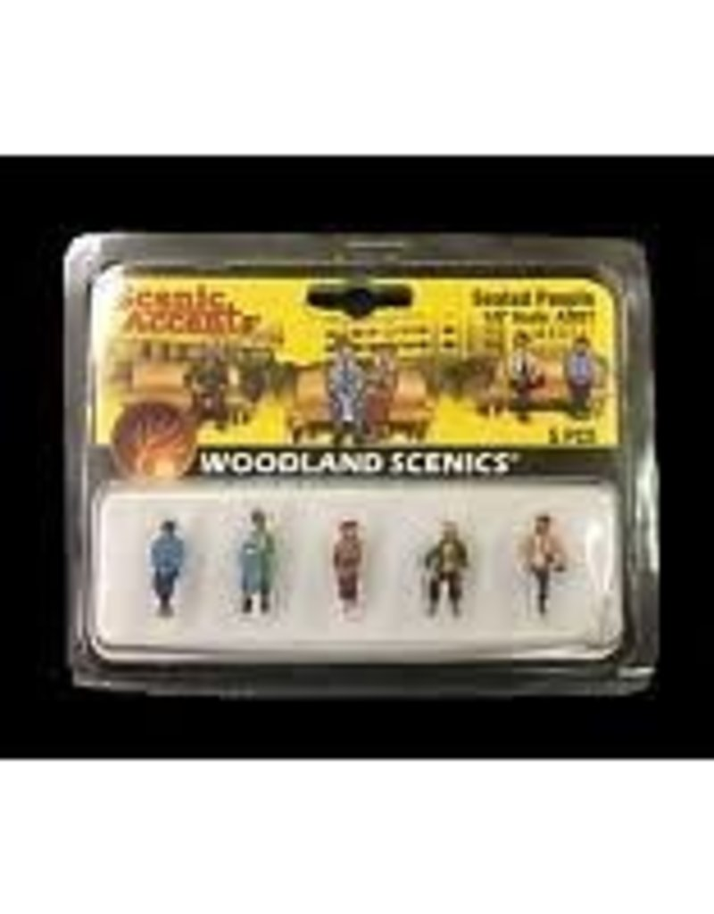 Woodland Scenics Architectural Models 1/16 Standing People