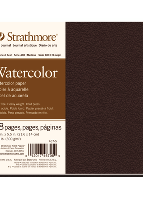 Strathmore Strathmore Watercolor Hard-Bound Art Book 400 Series 8.5 x 5.5 Inch