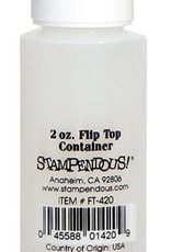 Stampendous/Mark Enterprises Empty Flip Top Bottle 2 Ounce