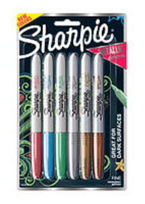 Sharpie Metallic Sharpie 6 Color Set