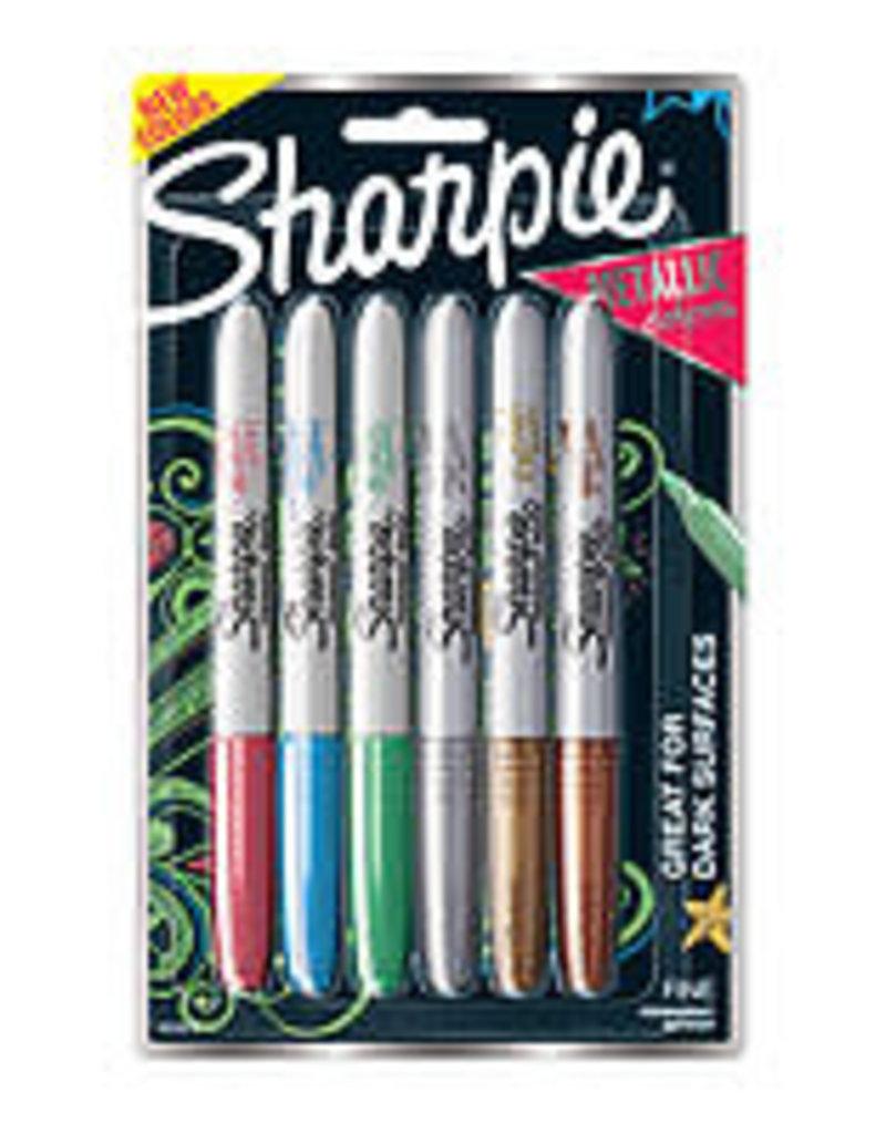 Sharpie Metallic Sharpie 6 Color Set