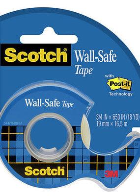 Scotch Tape Wall Safe .75 x 650 Inch Dispenser Roll