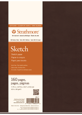 Strathmore Strathmore Softcover Sketch Art Journal 400 Series 7.75 x 9.75 Inch