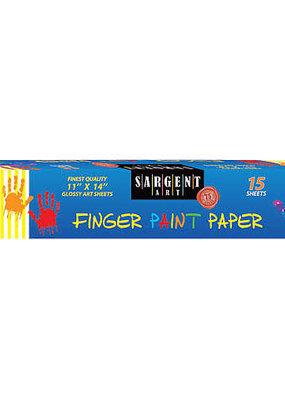 Sargent Art Finger Paint Paper 11X14 15 Sheets