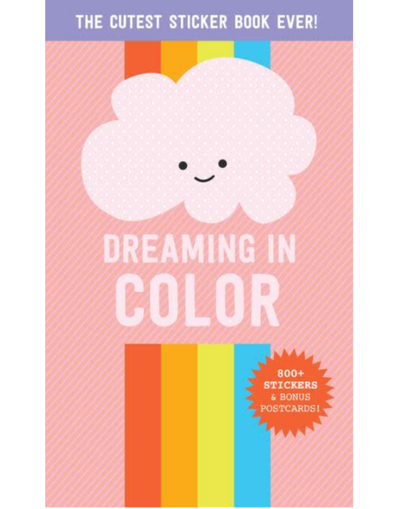 Workman Dreaming in Color Sticker Book