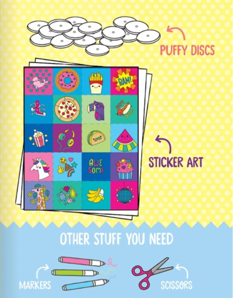 Klutz Make Your Own Puffy Stickers