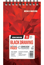Koh-I-Noor Black Drawing Pad 5.5 x 8.5