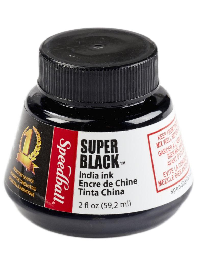 Speedball Super Black India Ink 2 Ounce