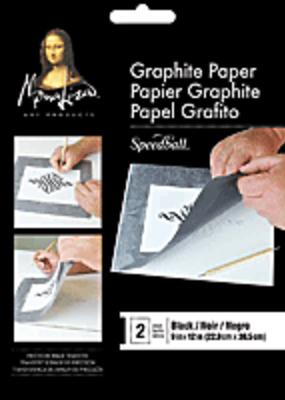 Mona Lisa Black Graphite Paper 9 X 12