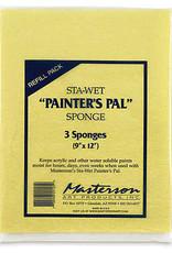 Masterson Sta-Wet Palette Sponge Refills 3 Pack