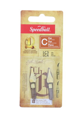 Speedball Left Handed Lettering & Drawing Nib LC3/LC4