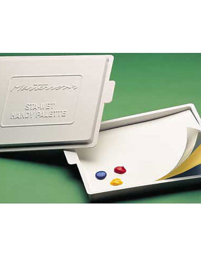 Masterson Sta-Wet Handy Palette With Cover