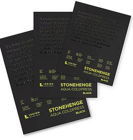 Legion Paper Stonehenge Aqua Black Watercolor Pad 9 x 12