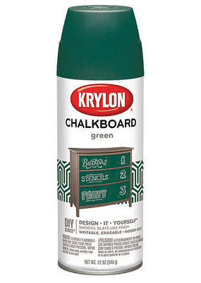 Krylon Chalkboard Spray Green 12 Ounce