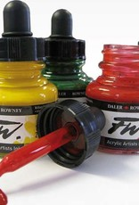 Daler-Rowney FW Acrylic Ink Primary Colors Set of 6