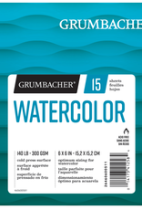 Grumbacher Grumbacher Watercolor Pad 6 x 6