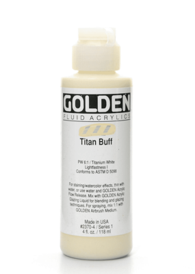 Golden Golden Fluid Acrylic Titan Buff 4 Ounce