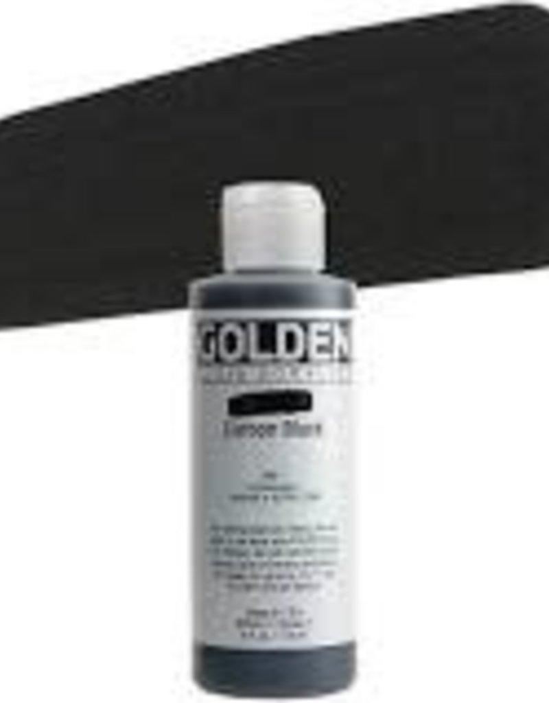 Golden Golden Fluid Acrylic Carbon Black 4 Ounce