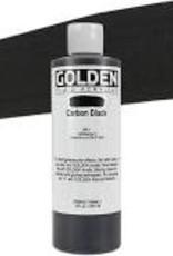 Golden Golden Fluid Acrylic Carbon Black 8 Ounce