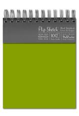 Global Art Flip-Sketch Sketch Books 9 X 12 Fern