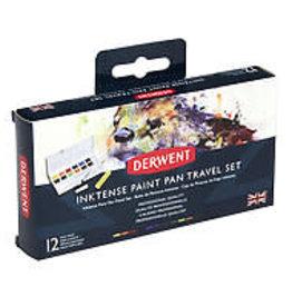 Derwent Inktense Paint Pan Travel Set