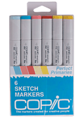 Copic Copic Perfect Primaries Set 6