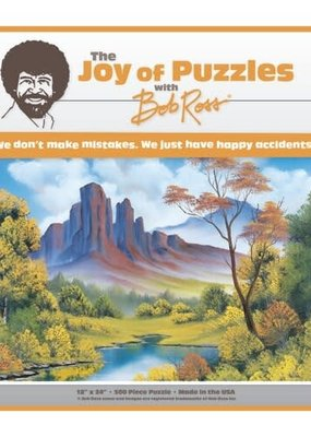 Wellspring Bob Ross Joy of Puzzles Fall