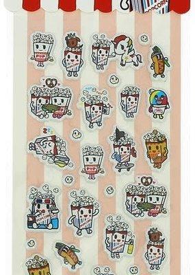 Tokidoki Tokidoki Popcorn Stickers