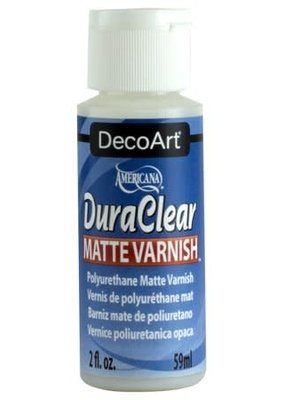 DecoArt DuraClear Matte Varnish 2 Ounce