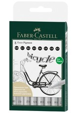 Faber-Castell Ecco Pigment Fineliner 8 Pack