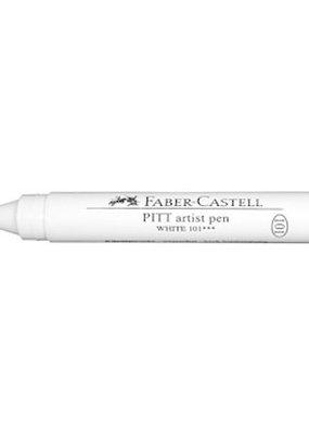 Faber-Castell Pitt Artists' Pen White Large Brush