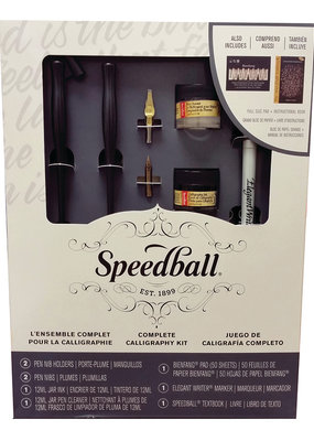 Speedball Complete Calligraphy Set