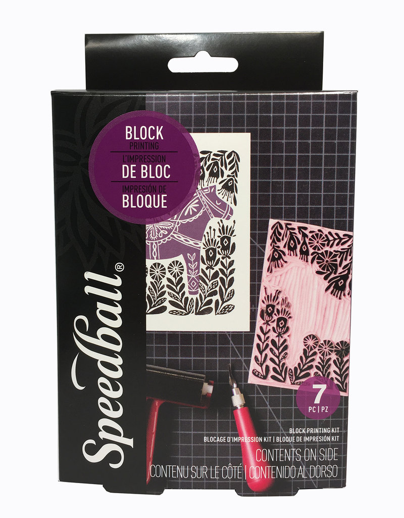 Speedball Super Value Block Printing Kit