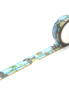Flying Bee Official Store Washi Totoro At The Beach