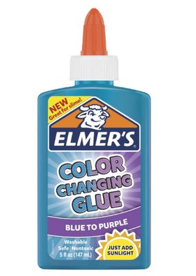 Elmer's Elmer's Glue Color Change 5 oz Blue