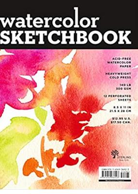 Sterling Watercolor Sketchbook Large Landscape Spiral
