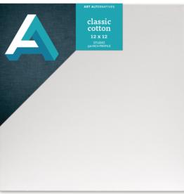 Art Alternatives Classic Cotton Stretched Canvas 12 x 12