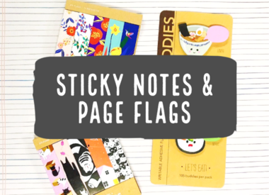 Sticky Notes & Page Flags
