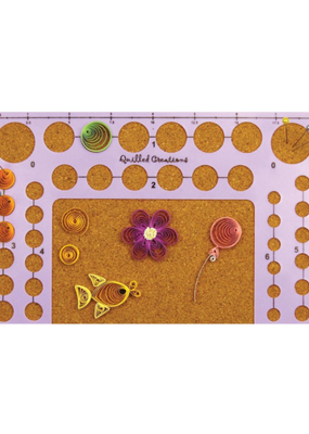 Quilled Creations Quilled Creations Circle Template Board 5 X 8