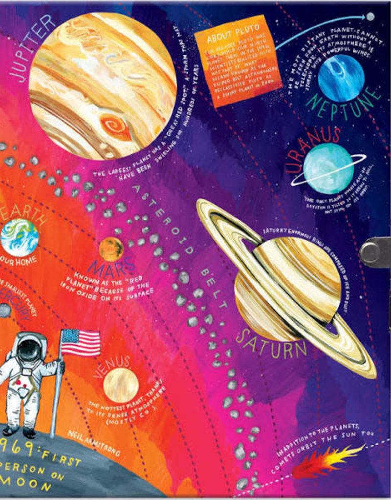 eeBoo Locking Journal Space Adventure