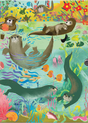 eeBoo Locking Journal Otters
