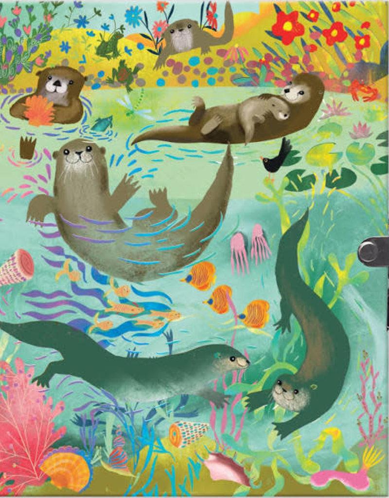 eeBoo Locking Journal Otters