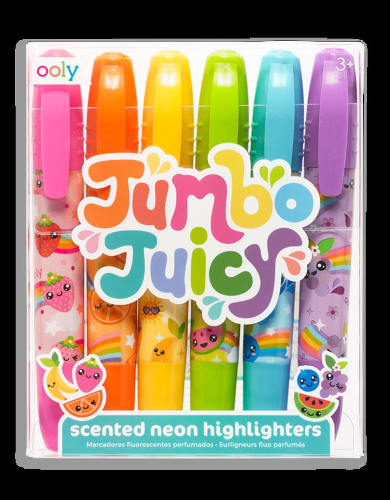 Ooly Jumbo Juicy Scented Neon Highlighters