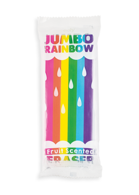 Ooly Eraser Jumbo Rainbow Scented