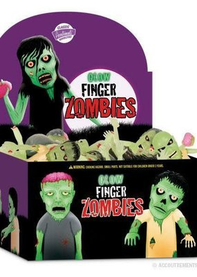 Archie McPhee Glow Zombie Finger Puppets