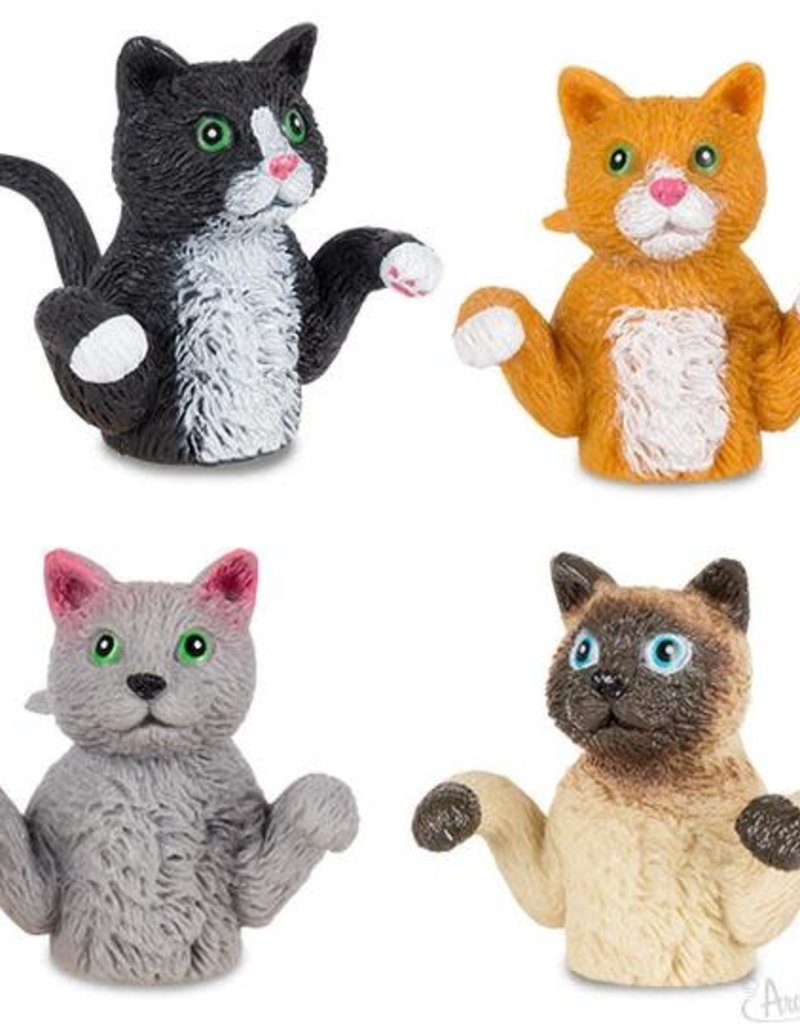 Archie McPhee Cats Finger Puppet